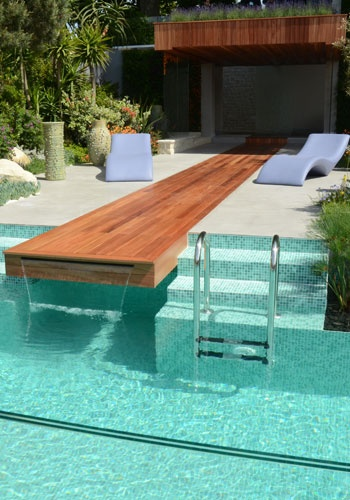 Cascata para piscina ideias e de 50 modelos lindos for Pool gestaltungsideen
