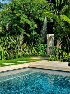 chuveiro para piscina externo