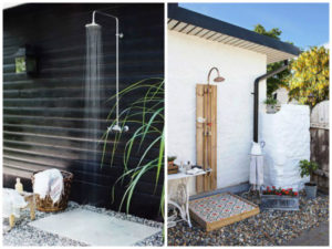 chuveiro para piscina projeto externo