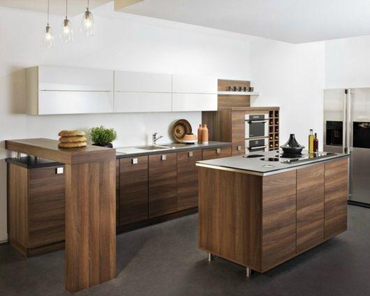 Cozinha americana pequena como decorar e 60 modelos lindos for Barras americanas