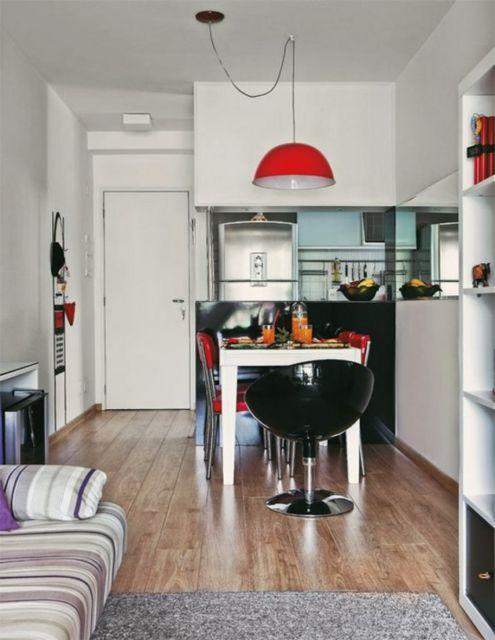 Sala Pequena Com Cozinha Americana ~ Cozinha Americana Pequena Como decorar e 60 modelos lindos