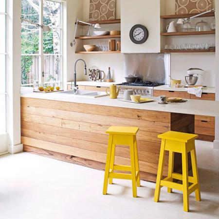 cozinha-americana-pequena-de-madeira