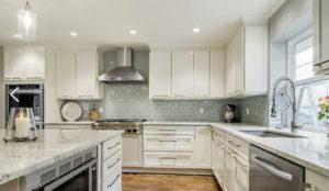 cozinha clean branca