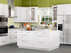 cozinha clean design branco