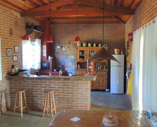 Cozinha r stica como decorar e 58 fotos lindas - Fotos de cocinas rusticas de campo ...