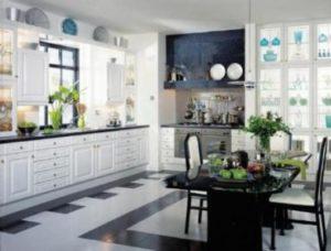 montar uma decoração clássica na cozinha