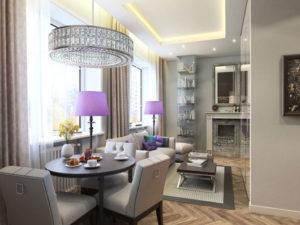 decoração clássica em espaço pequeno