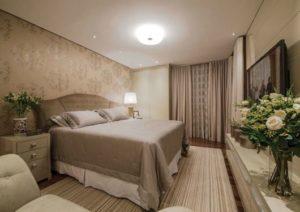decoração clássica para quarto de casal