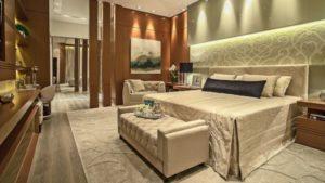 decoração clássica para quartos cores pastéis