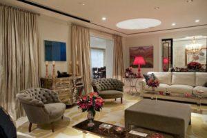 decoração clássica projeto apartamento pequeno
