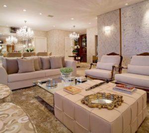 decoração clássica de apartamentos pequenos