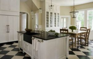 decoração clássica anos 90 para cozinha