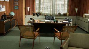 decoração clássica de escritório