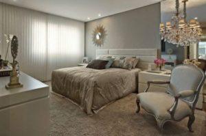decoração clássica para quartos de casais