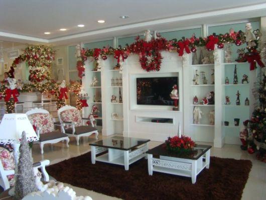 Sala Pequena Decorada Para O Natal ~ Decoração de natal dicas de cores, estilos e onde e como usar!