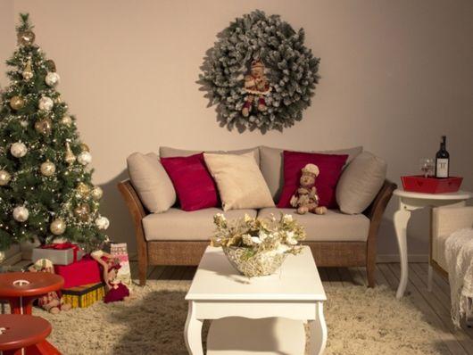 decoração sala de estar provençal
