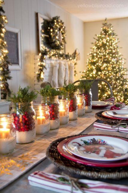 decoração reaproveitamento mesa