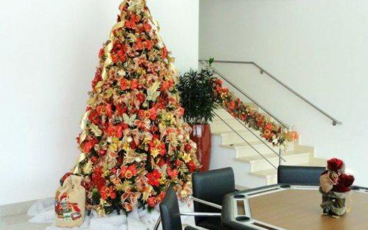decoracao arvore de natal vermelha e dourada : decoracao arvore de natal vermelha e dourada:Decoração de natal: dicas de cores, estilos e onde e como usar!