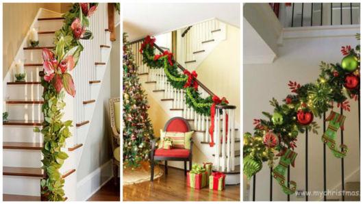 escada decorada