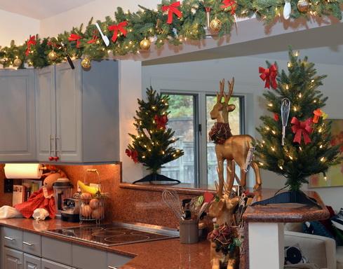 enfeite natal cozinha