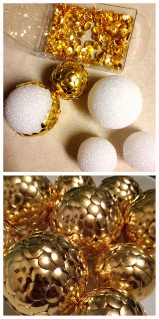 bola de natal decorada