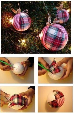 bola decorada tecido