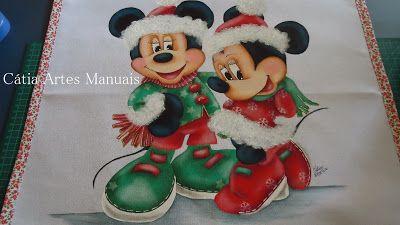 pano de prato Mickey