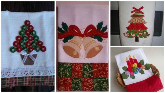 panos de pratos decorados
