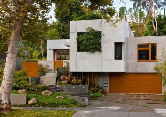 fachada-concreto-aparente-com-madeira