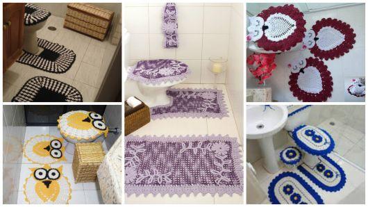 Jogo De Banheiro De Croche 88 Fotos Graficos E Receitas Gratis