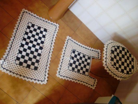 kit xadrez preto e branco
