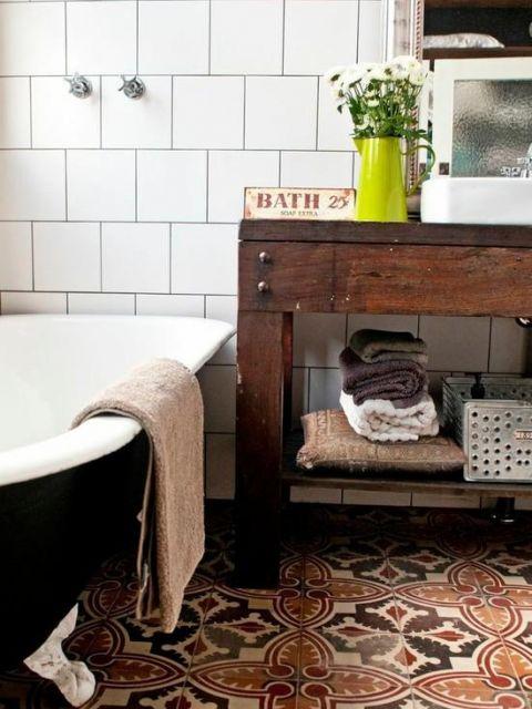 Banheiro Rústico Modelos, dicas para decorar e + de 40 fotos! -> Decorar Banheiro Rustico