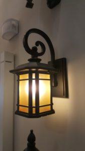 luminárias rústicas arandela