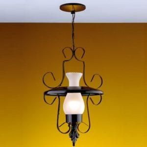 luminárias rústicas modelo colonial