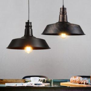 luminárias rústicas com ferro