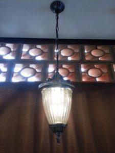 luminárias rústicas estilo colonial