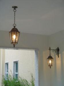 luminárias rústicas clássicas coloniais