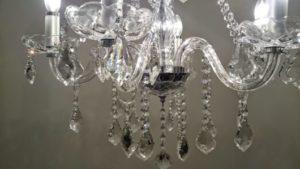 lustres no paraguai de cristal