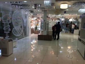 lojas para comprar lustres no Paraguai