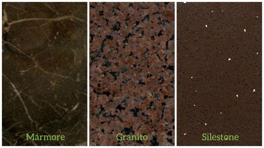diferença tipos de pedra