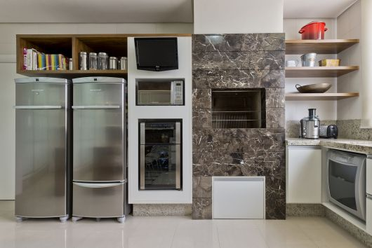 churrasqueira na cozinha