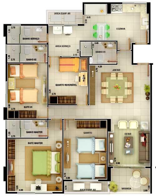 modelos-de-chacaras-grandes-4-quartos
