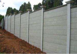 o que é um muro pré moldado