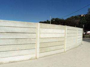 desvantagens do muro pré moldado