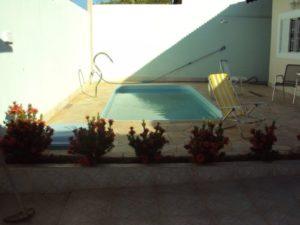 piscina na laje simples