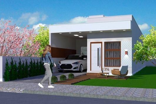 Plantas e projetos de casas populares gr tis 50 modelos for Casa popular