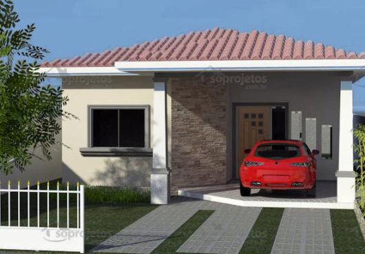 casa com portão