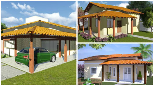 projetos com varanda