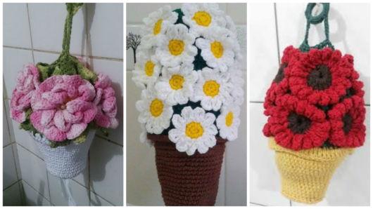 modelos vaso com flores