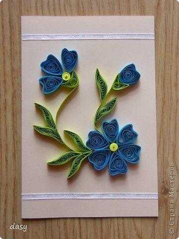 cartão com flor